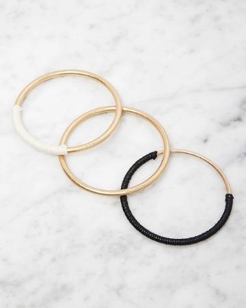 Picture of Faux Pearl Bracelet Set