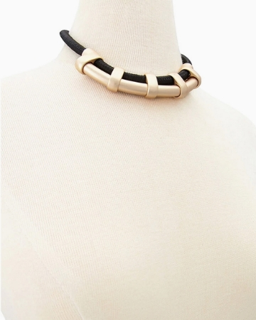 Picture of Faux Stone Statement Necklace