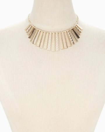 Picture of Fringe Statement Necklace