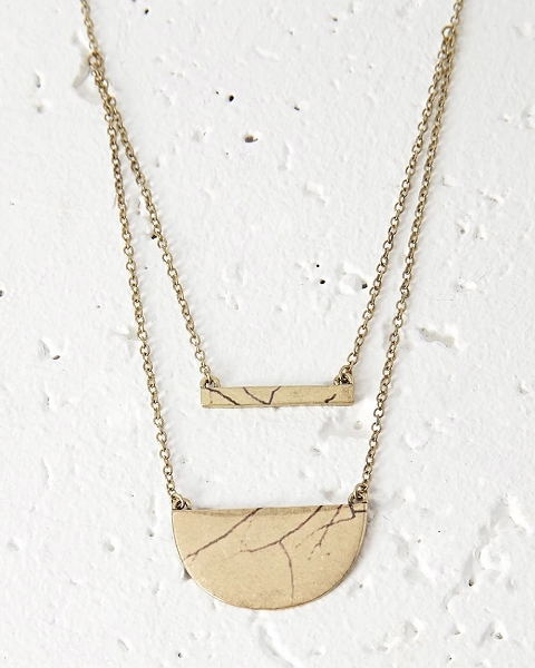 Picture of Layered Pendant Necklace