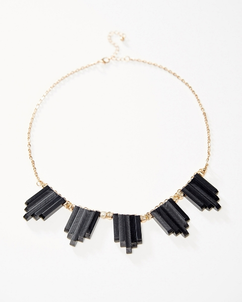 Picture of Multi-Tonal Crystal Necklace