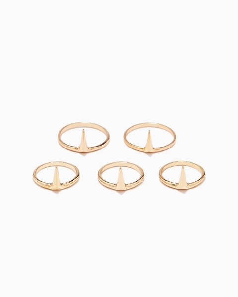 Picture of Faux Stone Ring Set
