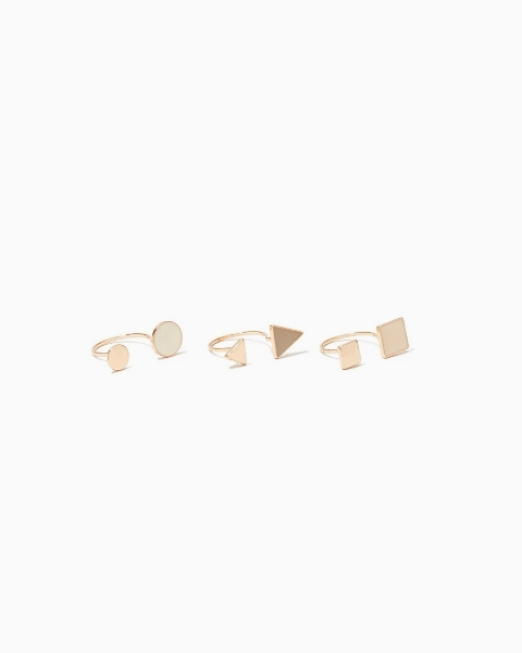 Picture of Pointed Cutout Ring Set